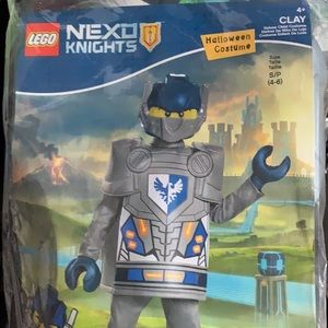 Disguise Lego Nexo Knights Clay Deluxe Costume Sml